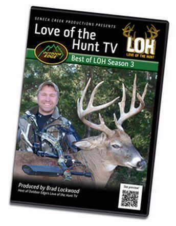 Outdoor Edge Cutlery Corp DVD Love Of The Hunt - Best Of Season 3 DVD-36