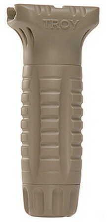 Troy Industries CBQ Vertical Grip, Polymer Tan SGRI-VRT-00TT-00