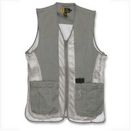 Browning Dusty Mesh Vest Stone/Tan Medium 3050236902