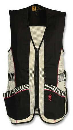 Browning Lady Sahara Black/Zebra Vest XX-Large 3050683905