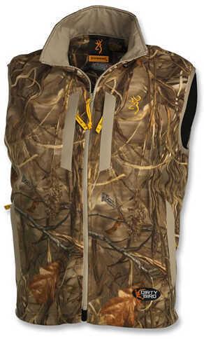 Browning Dirtybird Fleece Vest, Realtree Max4 Camo Medium 3056042202