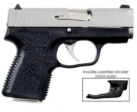 "Kahr Arms CM40  40 S&W 3.1"" Barrel 5 Round Stainless Steel Lasermax Laser Semi Automatic Pistol"