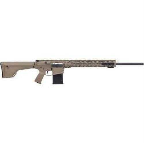 "Alex Pro Firearms Semi-Auto  Rifle APF AR10 22-250 24"" Barrel  10 Round Flat Dark Earth"
