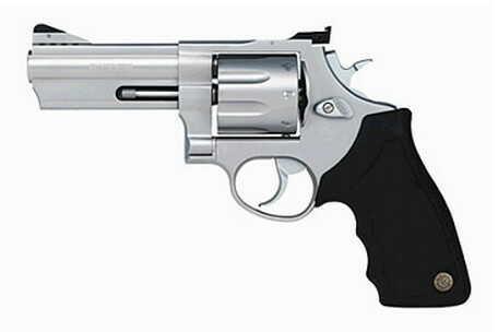 """Taurus M608 357 Magnum 4"""" Barrel 8 Round Adjustable Sights Stainless Steel """"Refurbished"""" Revolver 2608049"""