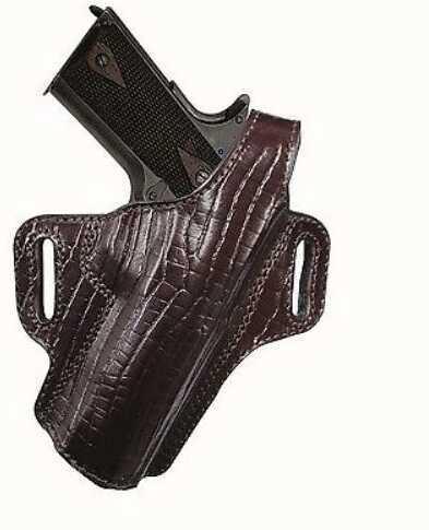 "Tagua Premium Thumb Break Belt Holster Colt 1911-5"" Burgundy"