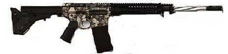 "Black Rain Ordnance 7.62 NATO 18"" Barrel 20 Round Magpul UBR Skulls Semi Automatic Rifle BRO-PG13"