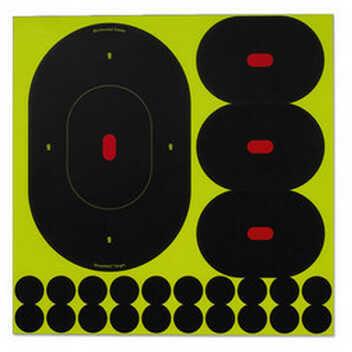 "Birchwood Casey Shoot-N-C Targets: Silhouette 9"" & 4"" Assortment (100) 34970"
