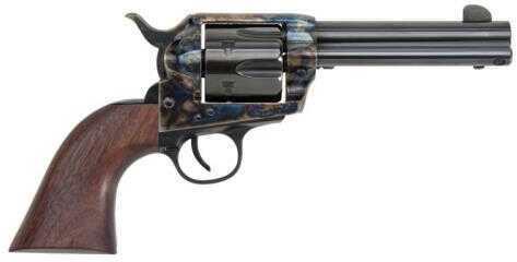 "Pietta Pre War 1873 Single Action Army Revolver Color Case Hardened 4.75"" Barrel 44-40 Winchester Walnut Grip"