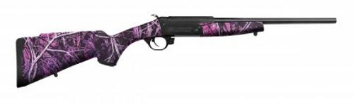 "Traditions Rifle Crackshot 17 HMR 16.5"" Barrel   Single Shot   Muddy Girl Camo"
