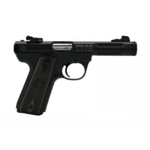 "Ruger 22/45 22 Long Rifle 4.4"" Barrel Zytel Polmer Frame Pistol Black Anodized 10 Round 3903 P45MK3ALRPFL"