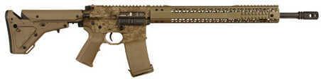"Del-Ton AR-15 Rifle Black Rain Ordnance 5.56mm NATO 18"" Barrel 12"" Rail UBR Stock 30 Round Mag Digital Tan Finish Semi-Automatic Rifle BRO-PG11-18DIGI"