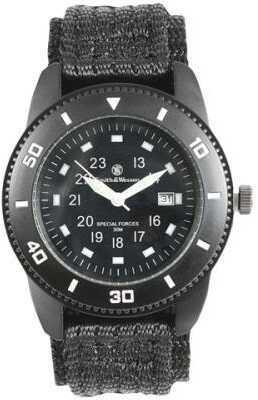 Smith & Wesson Commando Watch With Black Nylon Strap