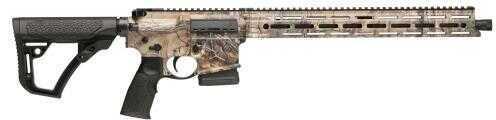 "Daniel Defense Ambush Semi-Automatic 300 AAC Blackout/Whisper (7.62x35mm) 16"" 5+1 6-Position Black Stock Realtree Camo 03041 DDM4"