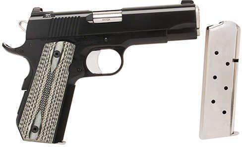 Dan Wesson Series Valor Bobtail Commander 45 ACP Black Finish Semi Automatic Pistol 01983