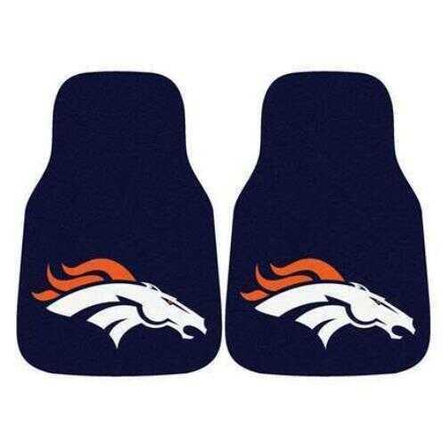 Fanmats 2 Piece Carpet Car Mat Set Nfl - Denver Broncos