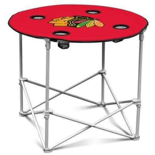 Logo Chair Chicago Blackhawks Round Table