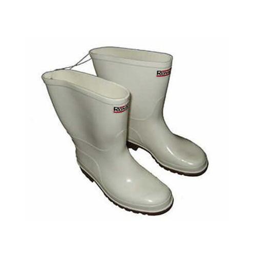 Jordan International Marketing Royal White Shrimp Boot PVC Gum Sole Sz10 Md#: RWB10