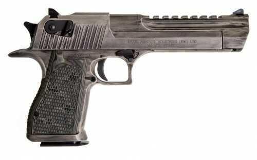 Pistol Magnum Research Desert Eagle 50ae 6 White Distressed Cerakot