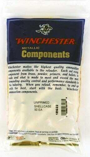 Winchester Unprimed Brass 300 Winchester Magnum (Per 50) WSC300WMU