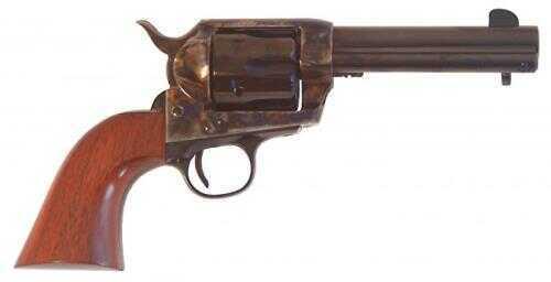 "Cimarron SA Frontier Old Model 44-40 Winchester 4.75"" Barrel Case Hardened Walnut Grip Standard Blue Finish PP522"