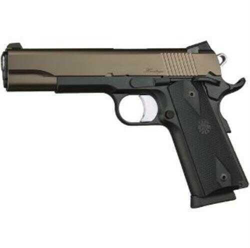 Dan Wesson Heritage 45 ACP Black Frame Bronze Slide Semi Automatic Pistol