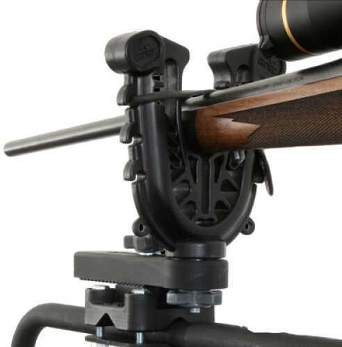 "ATV Tek FlexGrip Pro Single Gun and Bow Rack Attaches to ATV - Forks are 15 percent larger - 7"" x 5.5"" x 1"" FFG1"
