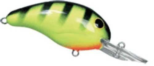Bandit Lures Bandit Mid Range 1/4 Chartreuse/Black Stripe Md#: 100-06