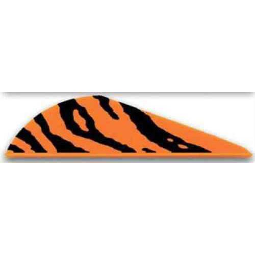 Bohning Archery Bohning Blazer Vanes 100pk Orange Tiger 2in 10832OT2
