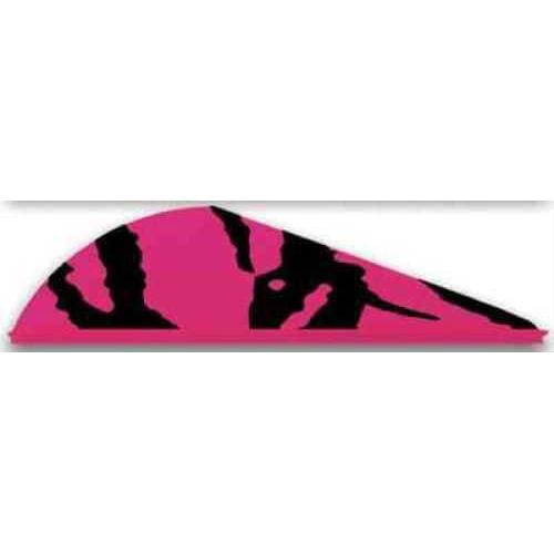 Bohning Archery Bohning Blazer Vanes 100pk Pink Tiger 2in 10832PT2