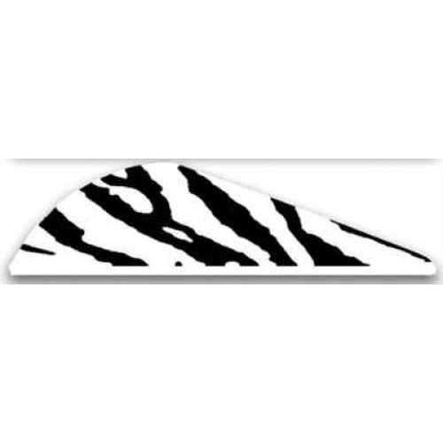 Bohning Archery Bohning Blazer Vanes 100pk White Tiger 2in 10832WT2