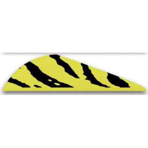 Bohning Archery Bohning Blazer Vanes 100pk Yellow Tiger 2in 10832YT2