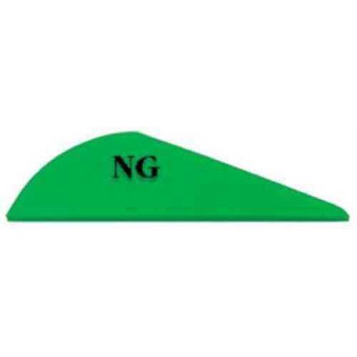 Bohning Archery Bohning Blazer Vanes 100pk Neon-Green 2in 10832NG2