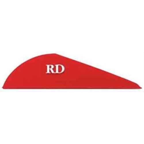 Bohning Archery Bohning Blazer Vanes 100pk Red 2in 10832RD2