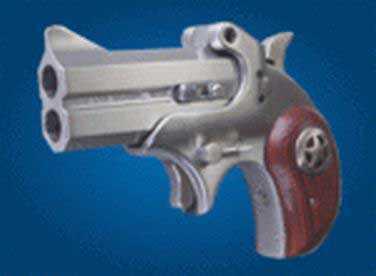 """Bond Arms Cowboy Defender 357 Magnum 3"""" Barrel 2 Round Stainless Steel Derringer Pistol BACD357/38SPL"""