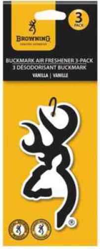 Signature Products Group SPG Apparel Browning Air Fresheners Vanilla - Buckmark - 3pk BBAF3001
