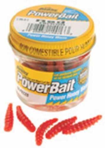 Pure Fishing / Jarden Berkley Power Honey Worm Jar Red Md#: EBPHWR