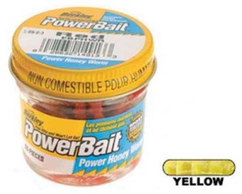Berkley Power Honey Worm Jar Yellow Md#: EBPHWY