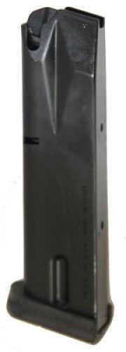 Beretta Factory Elite High-Capacity Magazine Model 92FS - 9mm - 15 Rounds - Rubber bumper pad - Not availabl JM92HCEB