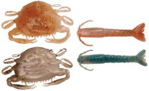Pure Fishing / Jarden Berkley Gulp Alive Shrimp/Crab Pint Asst 3in Shrimp/2in Crab Md#: GAPSH3PC2-AST132