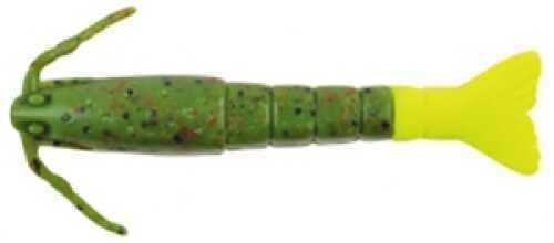 Pure Fishing / Jarden Berkley Gulp Alive Shrimp Quart 4In Watermeln Red/Chart Md: GAQSHR3-WRGC
