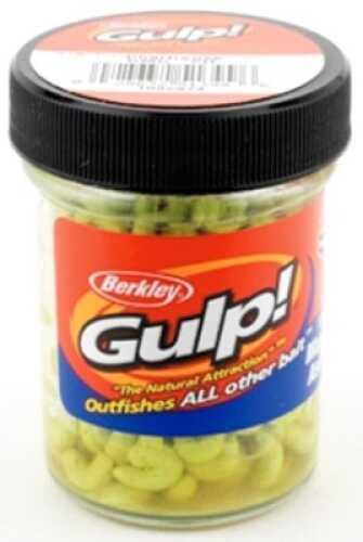 Pure Fishing / Jarden Berkley Gulp! Maggot Jar .9oz Chartreuse Md#: GMG-CH