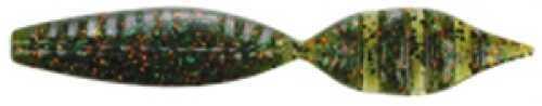 Pure Fishing / Jarden Berkley Havoc Devil Spear 4In 8per bag Watermelon Green Orang Md: HVMDS4-WGOF