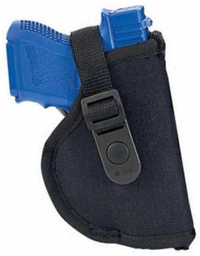 Allen Cases Cortez Nylon Pistol Holster, Black Size 4 44804