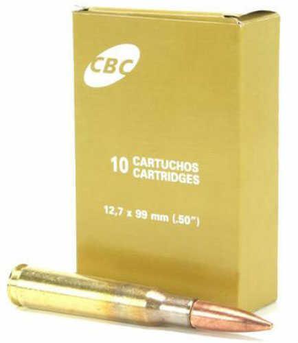 Barrett Firearms 50 BMG CBC Brand M33 Ball 661 Grains FMJ 250 Rounds Ammunition 14493