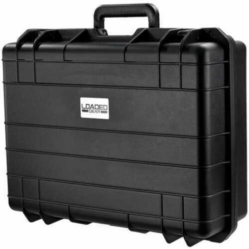 Barska Optics Loaded Gear, Hard Case HD-400, Black, Strap BH11862