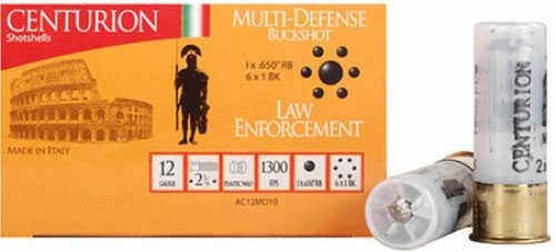 "Century Arms Centurian MUTI Defense Buckshot 12 Ga 2 3/4"" 10Pk Ammunition 12MD10"