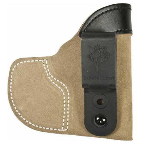 Desantis Pocket-Tuk Ruger Lcp With Crimson Trace Natural Left Hand