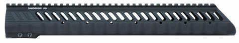 "Diamondhead USA Inc. VRS-T Free-Floating KeyMod Handguard Rail Fits AR-15 13.5"" Black Finish 2235"
