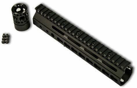 "Franklin Armory Keymod Rail 9"" Free Float Black 5 Space Pic Se"