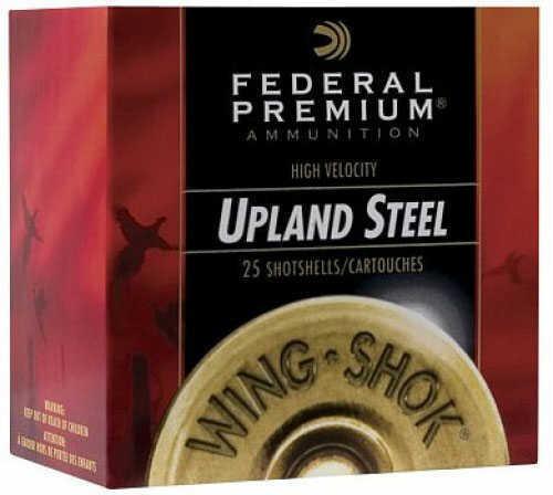 """Federal Cartridge Wing Shok Steel 12ga 3"""" 1.25oz #3 Ammunition PFS1403"""